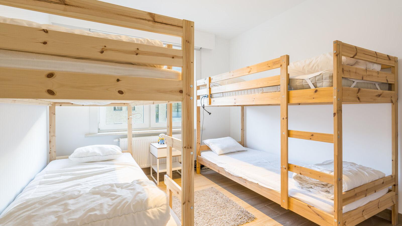 App. 2 slaapkamers in Koksijde