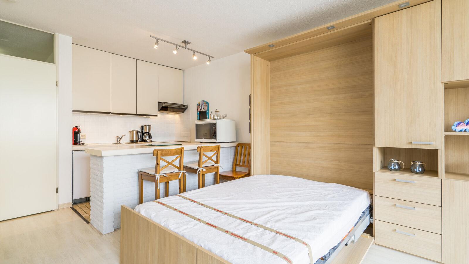 Appartement avec coin de sommeil à Koksijde